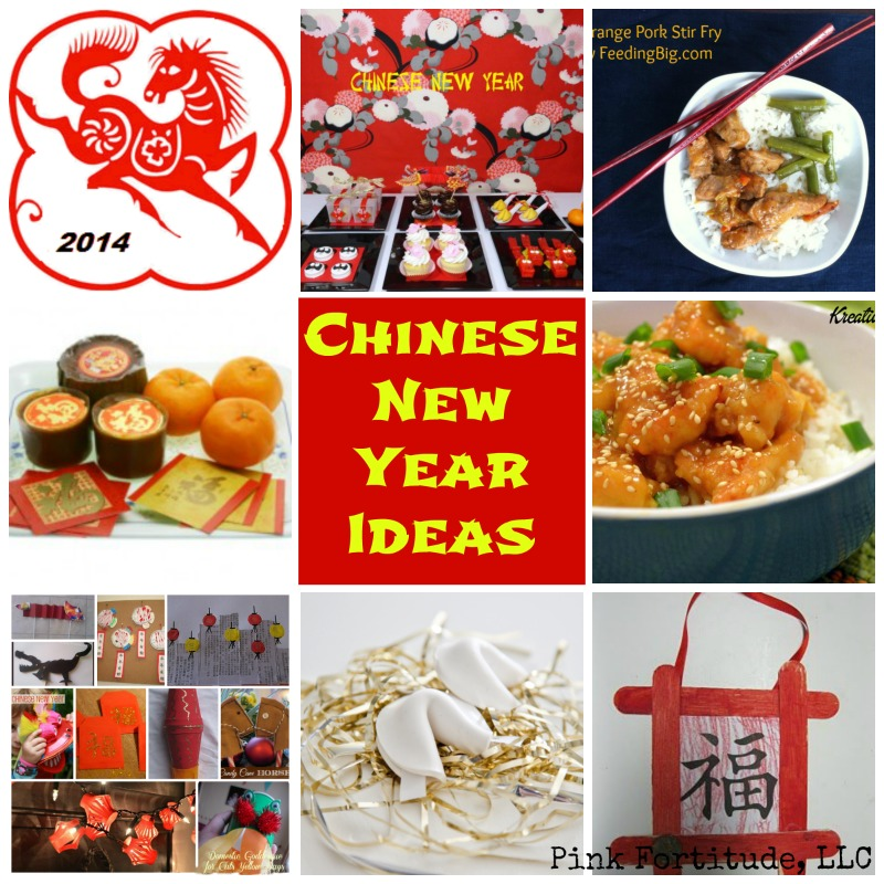 Chinese New Year Party Food Craft Ideas Year Of The Horse