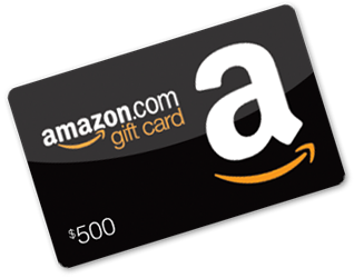 Enter to Win a $500 Amazon.com Gift Card Giveaway