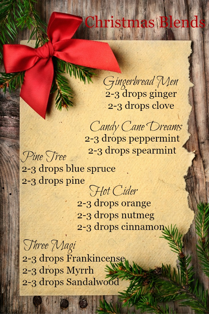 5 Christmas Diffuser Blends To Bring Holiday Cheer Pink