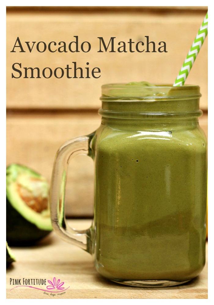 Avocado Matcha Smoothie - Fat Buster! - Pink Fortitude, LLC